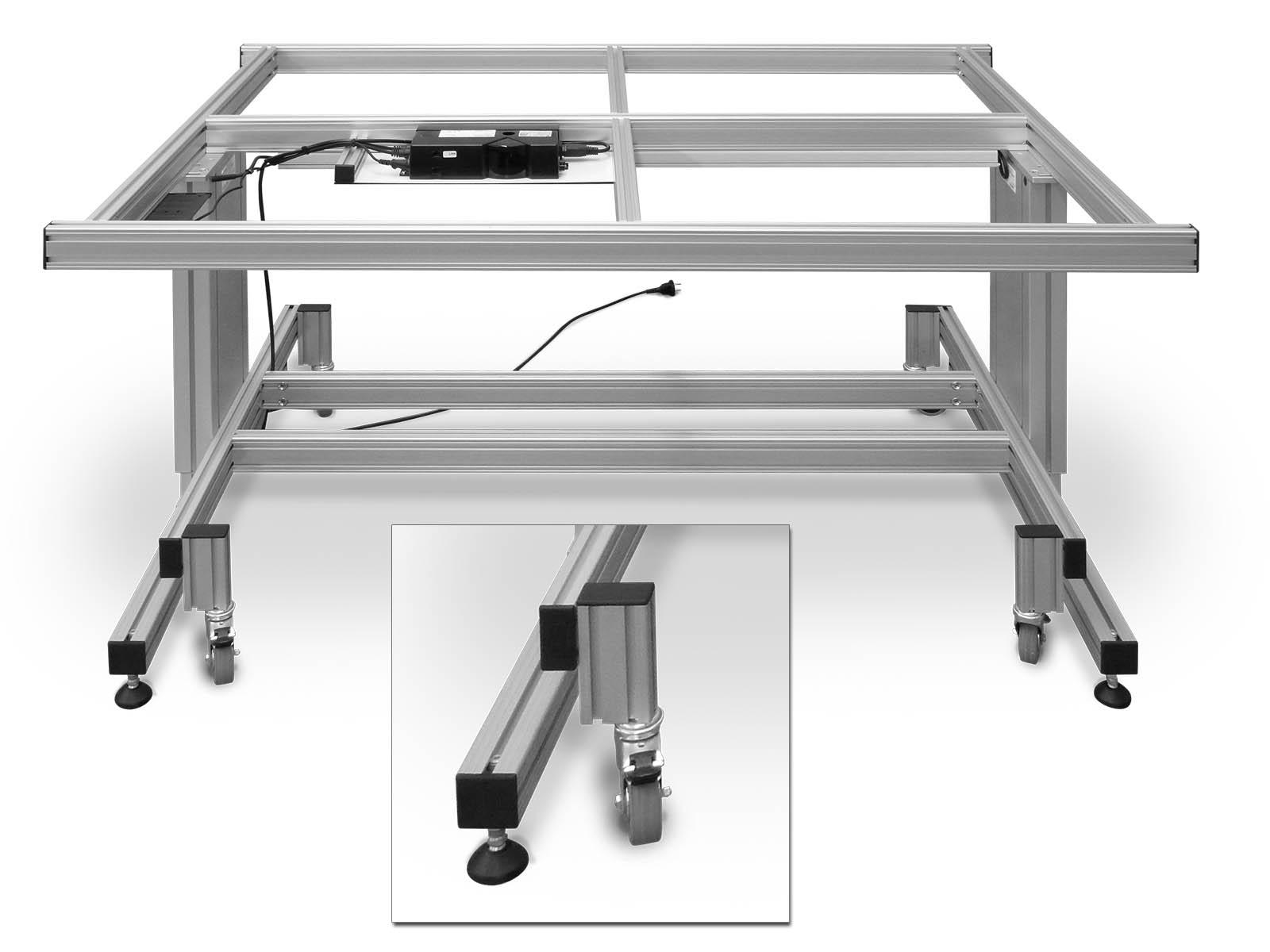 Arbeitstisch Rollbar arbeitstische belo restaurierungsgeräte gmbh