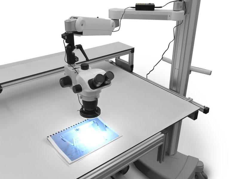 Mikroskop-Arm