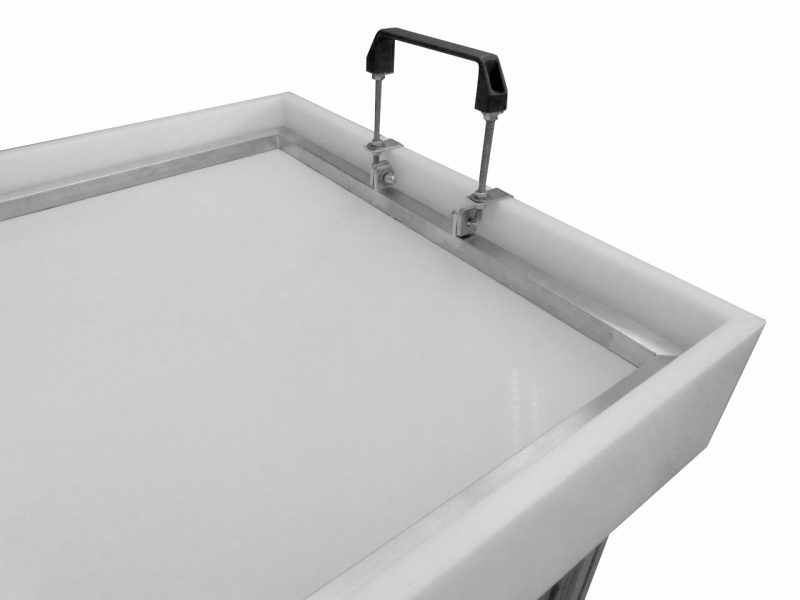 Sieve frame washing tub paper