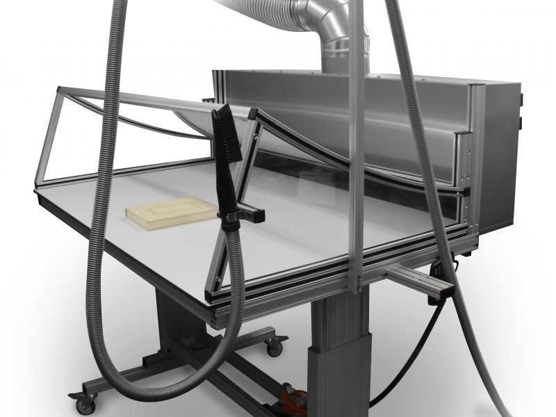 paper suction table